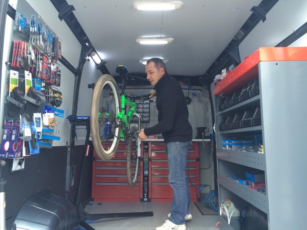 Réparation et entretien vélo à domicile Ile de france - Souzy-la