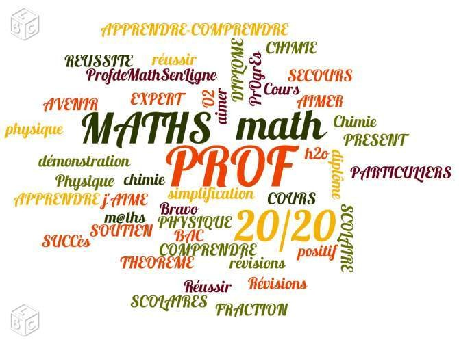 Cours particuliers Maths & Physique Chimie + 1h gratuit - Saint-Nazaire -  Soutien scolaire - #326979