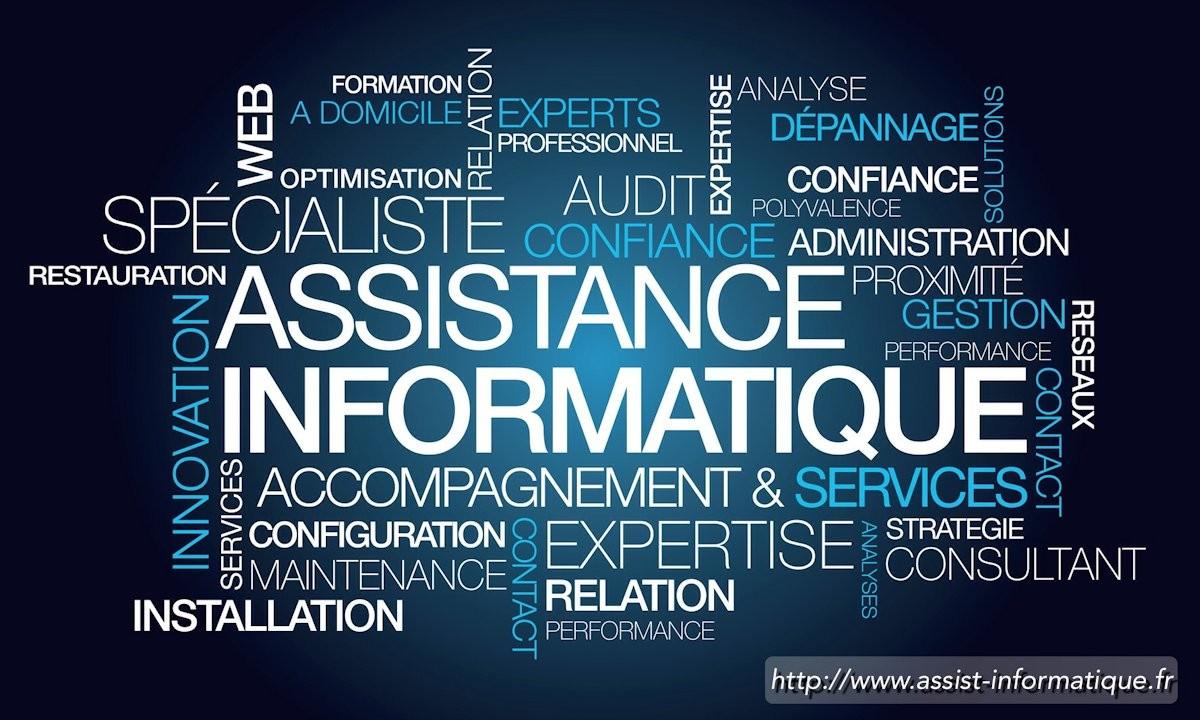 Assistance informatique et réseaux à domicile PC & MAC - Clamart