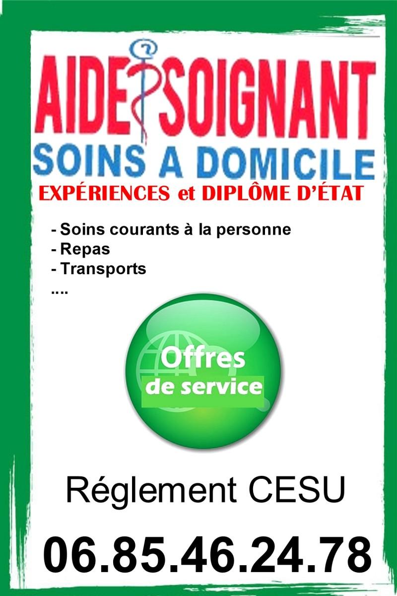 aide-soignant diplômé à domicile - Saint-Germain-du-Bois - Aide